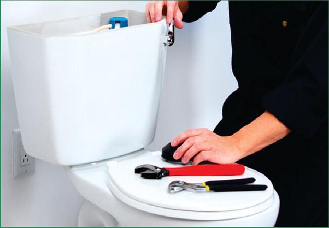 Exemplo desentupimento com retirada de vaso sanitário.
